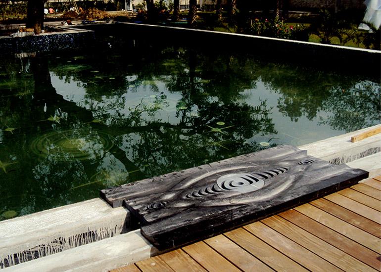 Ripple Pool Grating