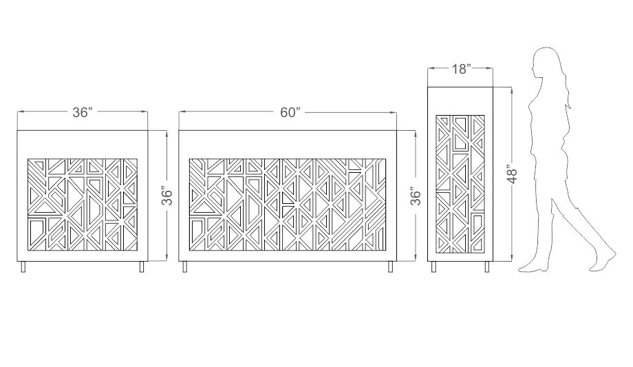 Anoma Illuminated Cuboids Kona Size Guide